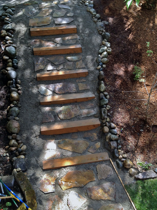 Persnickety stone steps