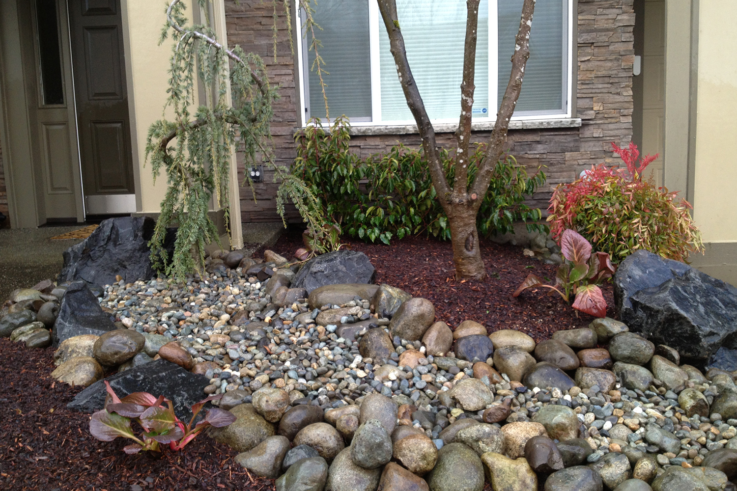 Persnickety stone and gravel work